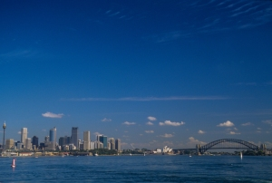 Sydney Harbor - downtown